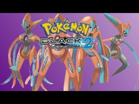Pokemon Black 2/ White 2 WiFi Event: Lvl 100 Plasma's Deoxys!