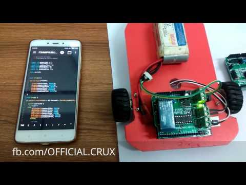 Bluetooth Control Robot Tutorial , Nabil Bangla Tutorial #CRUX