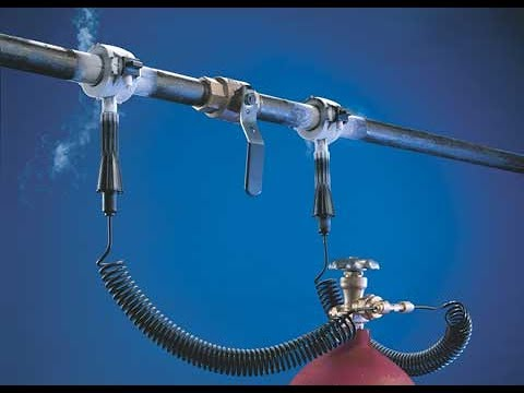Cold-Shot Pipe Freeze Kit
