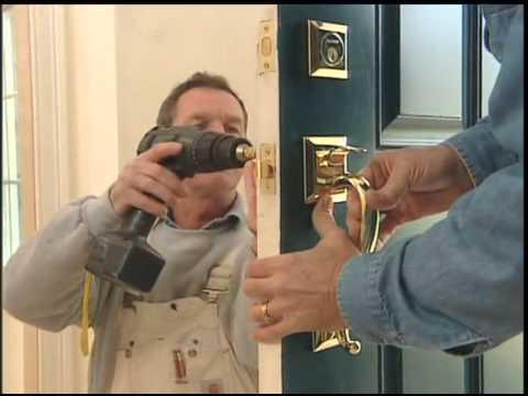 Door Lock Installation