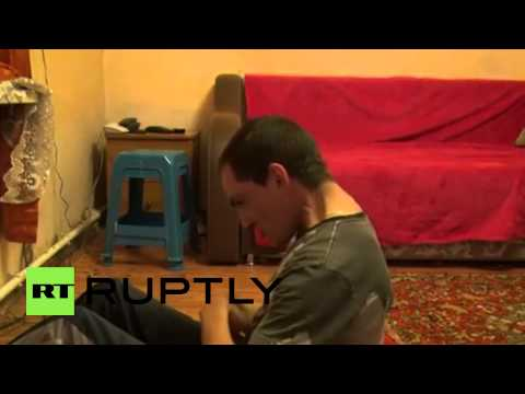 Russia: Farmer with cerebral palsy posts workout video, but needs help