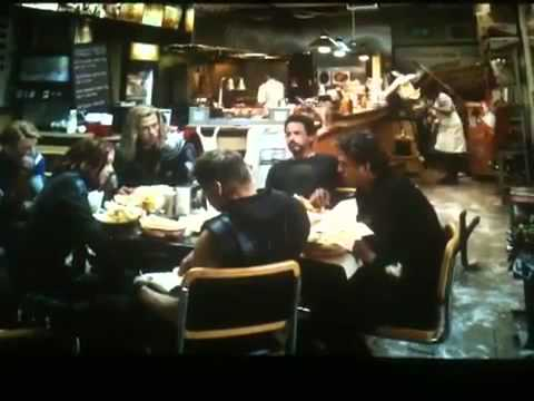 The Avengers Shawarma After Credits