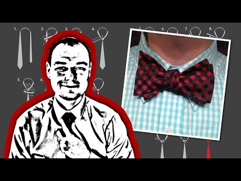 How to Tie a Bow Tie That is Too Long