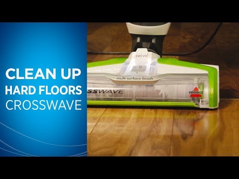 Cleaning Hard Floors with Your CrossWave™