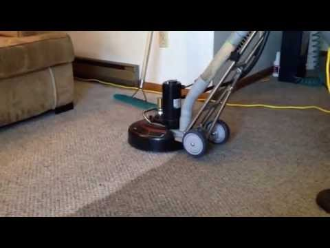 Cleaning badly soiled carpet
