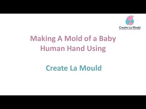 Create La Mould Baby Hand Feet Casting KIT - Demo