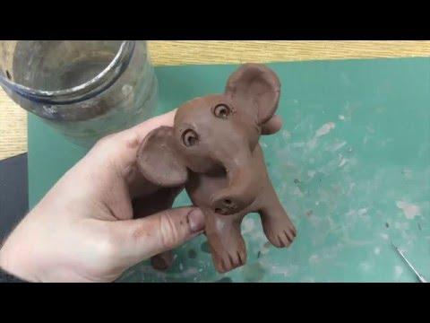 Kids Art Project - Clay Elephant