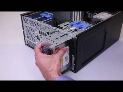 Dell PowerEdge T30: Install Optical Drive