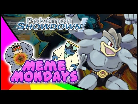 SPECS MACHAMP??? Meme Mondays - Pokemon Sun and Moon Showdown OU Live w. Macadii
