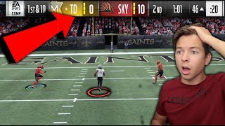 HAVING TO PLAY FROM BEHIND! MADDEN 18 SUPER SQUAD #34