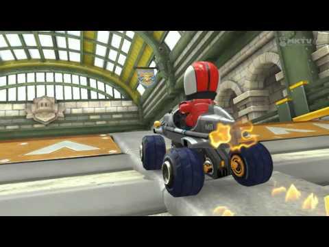 Wii U - Mario Kart 8 - Super Bell Subway