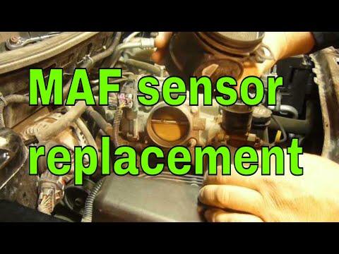 GM P0101 MAF sensor replacement. How to replace a Mass Air Flow Sensor