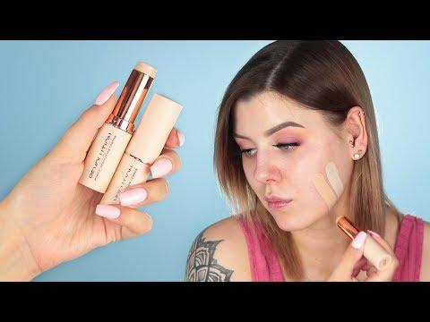 Makeup Revolution Fast Base Stick Foundation   Pierwsze wrażenie
