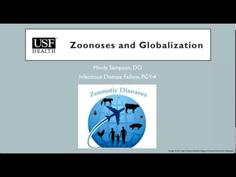 Zoonoses and Globalization -- Mindy Sampson, DO