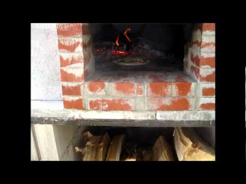 Off grid wood fire Brick Oven