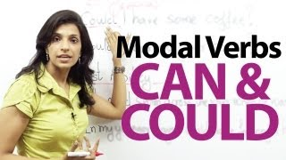 Modal verbs - Can and Could - English Grammar lesson