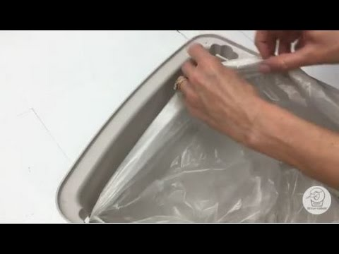 How to Install a Waste Drawer Liner in Litter-Robot Open Air Self-Cleaning Litter Boxes
