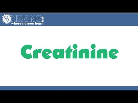 Creatinine (10 minute breakdown BUN Creatinine Ratio, GFR)