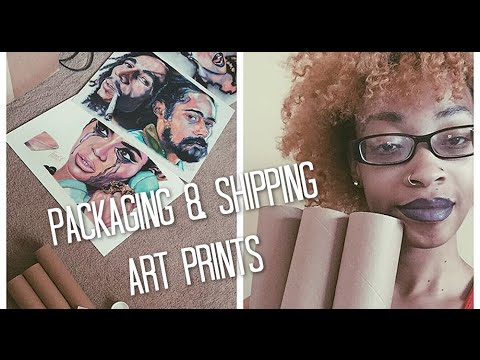 Artorials: How To Package & Ship Art Prints
