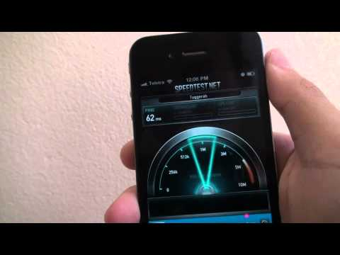 How to Check your Internet speeds on iPhone & iPod Touch? (HD)