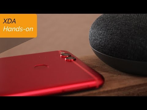 Hands-on with the Bright Red Honor 7X