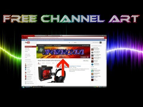 How To Make Free Channel Art