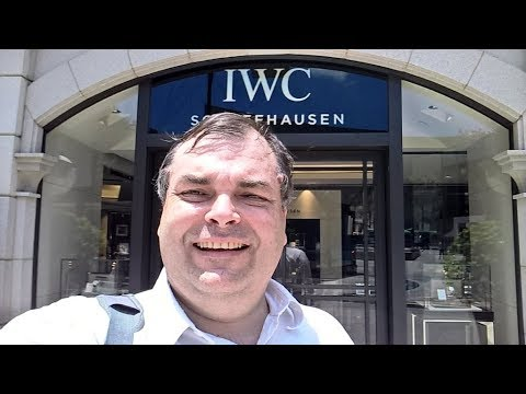 LOUSY STORE - IWC Schaffhausen Boutique 1881 Heritage Flagship Hong Kong