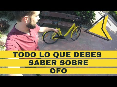 Probamos OFO, el nuevo servicio de bicicletas compartidas amarillas made in China