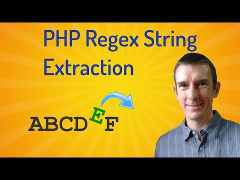 Extract parts of strings using regular expression capture groups