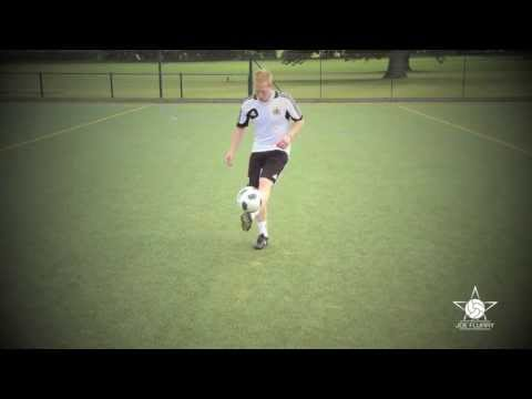 How to do Kick Ups - Learn how to Juggle a Football Soccer Ball