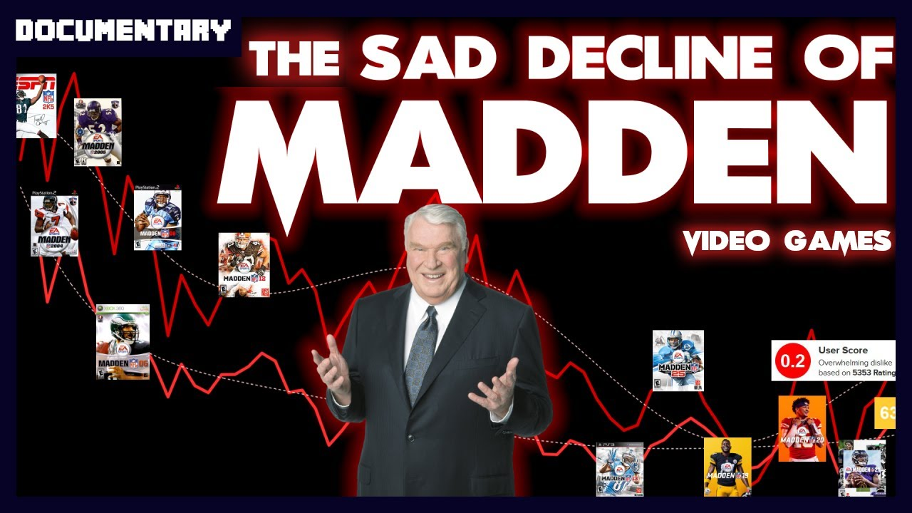 The Sad Decline of the Madden NFL Series