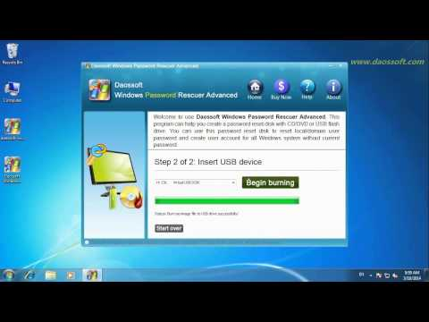 Reset Windows Server 2008 R2 Domain Password with Only a USB Media