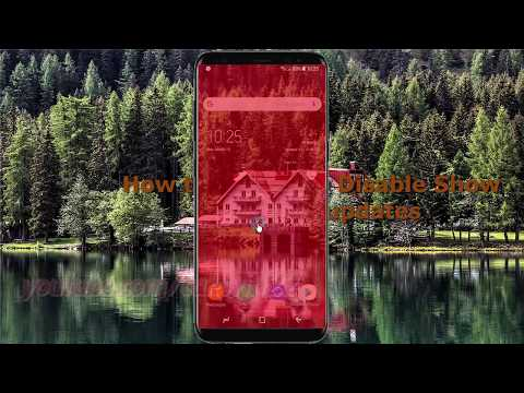 Android Nougat : How to Enable or Disable Show GPU view updates in Samsung Galaxy S8 or S8+
