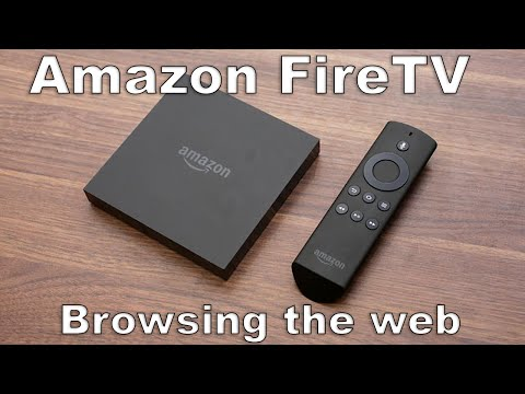 Amazon Fire TV (Internet Browsing & Streaming Live TV & Wireless Keyboard)