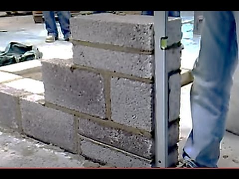 Building a Lead Blockwork (video 6 of 8)