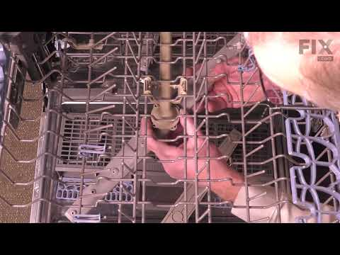 Whirlpool Dishwasher Repair - How to Replace the Middle Spray Arm