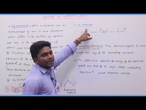 Nature of Chemical Bond  Chemistry Part-5 std 11th HSC Board Video Lecture BY Rao IIT