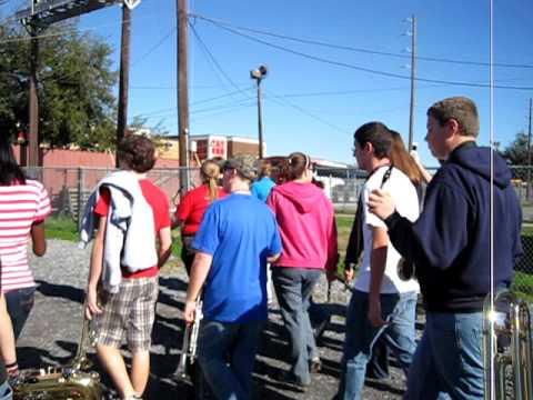 Newton-Conover High School Band in Louisiana!!!