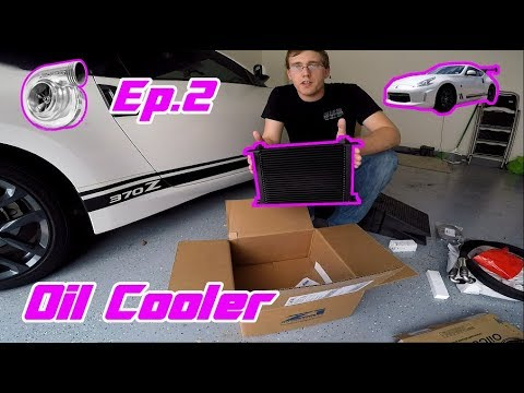 Road to Boost Ep.2 - Oil Cooler Install