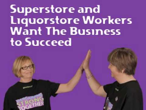 Superstore and Liquorstore Workers Want the Business to Succeed