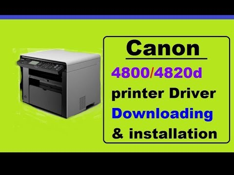 Canon 4820d Printer !!! driver download & installation  step by step tutorial ?