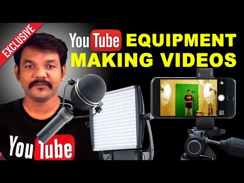 🔴Live || YouTube Equipment List for Making Videos || Super Chat || OnlineTamil #1