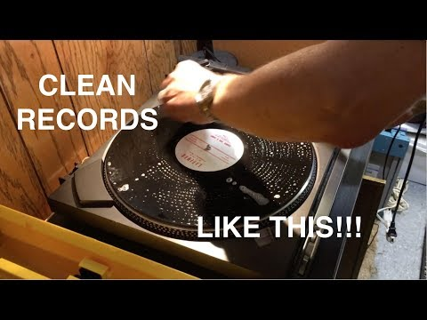 My Record Cleaning Process 2017