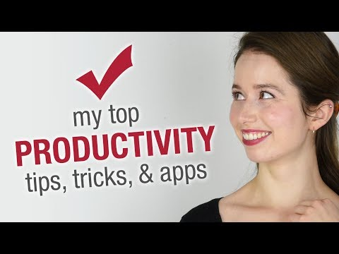 How I Get Stuff Done (Suggestions welcome!)