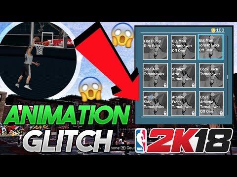 NBA 2K18 NEW ANIMATION GLITCH TUTORIAL!! Unlock Any Animation on Any Player! | PeterMc