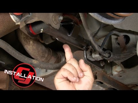 Mustang BMR Rear Lower Control Arms With Polyurethane Bushings 1999-2004 Installation