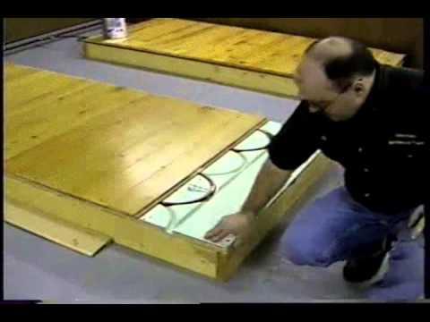Launstein Hardwood Flooring Installation Part 7/8 (Radiant Floors)