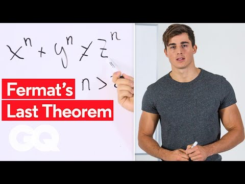 Handsome Math Professor Pietro Boselli Explains Fermat's Last Theorem | GQ
