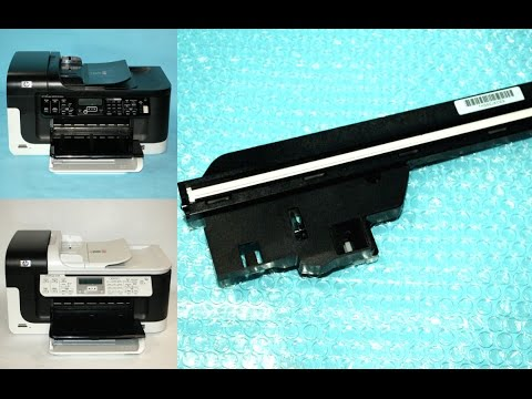 How to Replace Scanner Lamp Bulb Unit on HP Officejet 6500 Printer