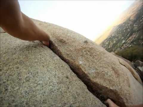 Mt Woodson Elsa's Crack Gopro